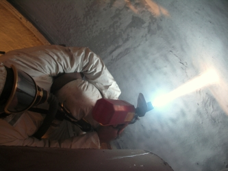 Metal spraying of surfaces – aluminium spraying